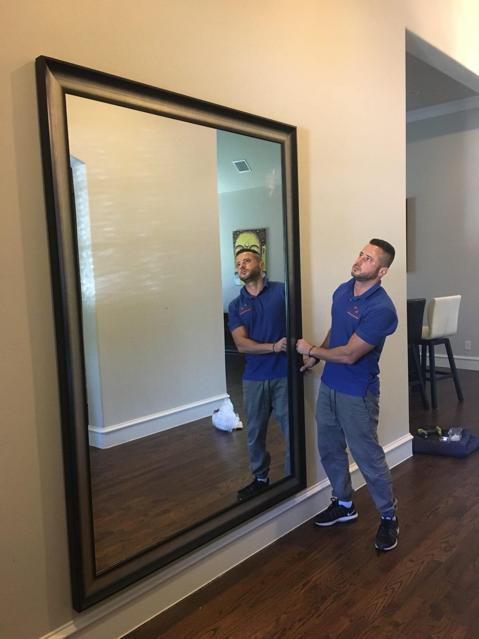 CUSTOM MIRROR FRAMING -