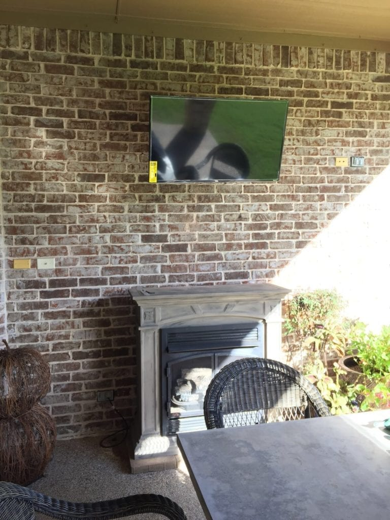 Tv Mounting On A Brick Wall
