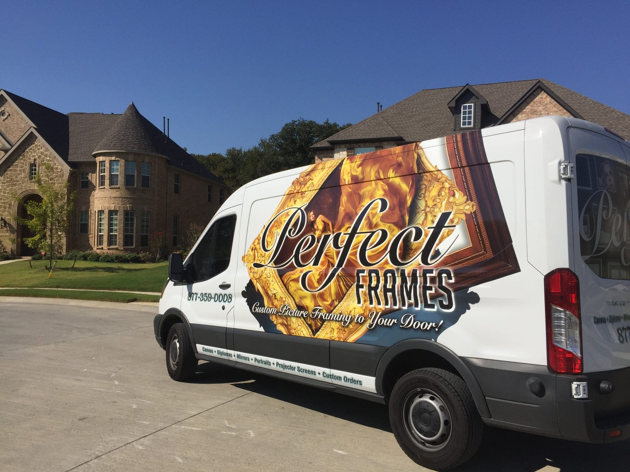 Hanging Services In Dallas Tx Perfect Frames Mobile